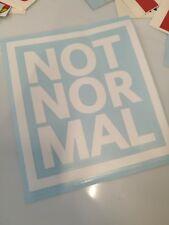 Aufkleber Not Nor Mal - NotNorMal - Mini - 10cm - Farbe wählbar