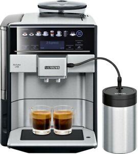 SIEMENS EQ.6 plus s700 TE657M03DE Edelstahl, schwarz Kaffeevollautomat