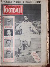 France Football n°609 (19 nov 1957) L'ouragan Nîmois - Bollini - Bonifaci -