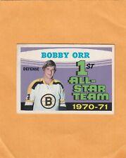1971-72 O PEE CHEE BOBBY ORR AS1 NO:251 Ex mint +      LOT 127
