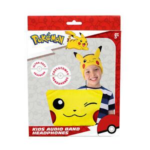 OTL Technologies Pokemon Pikachu Headband-Style Wired Headphones for Ages 3+
