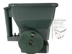 Lawn Garden Manual Hand Spreader For Seeds Granular Fertilizers And Ice Melters