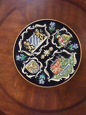 Beautiful Nurnberg Raised Design Plate - West Germany - 9.5 Dia. - Disney Store