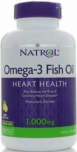 Omega-3 Fish Oil by Natrol, 150 softgels 1000 mg 1 pack