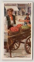 Costermonger Street Cart Fruit Vegetable Seller London 75+ Y/O  Ad Trade Card
