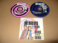 The Avengers  & Other Top Sixties TV Themes 2 cd 60 tracks 1998 Excelle Conditon