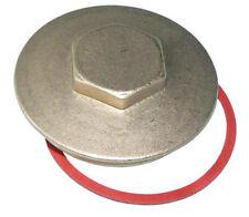 "Immersion Heater Hot Water Cylinder Brass Blanking Plug & Washer 2-1/4"" BSP"