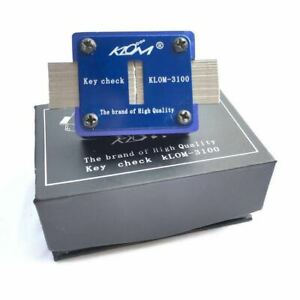 Locksmith Tools Klom Key Check/Blank Key Slot Checker KLOM-3100