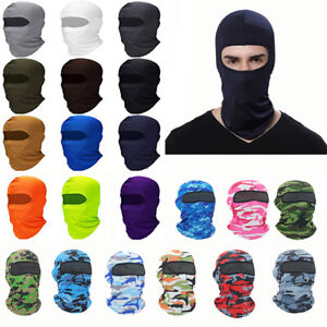 3pc Cycling Balaclava Summer Sun Ultra UV Windproof Full Face Mask Neck Scarf