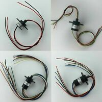 2 3 4 6 8 12 Wires 5A 22mm Dia, 500RPM Collector Ring Wind Turbine Slip Ring