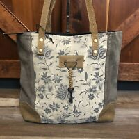 Myra Bags X Design Upcycled Canvas Shoulder Bag S 0951 For Sale Online Ebay Free shipping for products over $100 and huge discounts, only at serbags. myra bag azure upcycled canvas cowhide leather shoulder bag s 1266