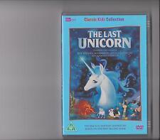 THE LAST UNICORN DVD