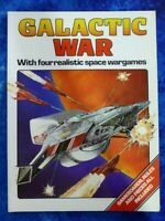 GALACTIC WAR by Andrew McNeil 4 realistic space wargames 1983 PB BOOK Scholastic