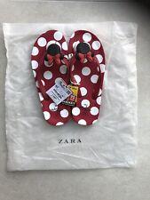 Minnie Mouse Flip Flops From Zara Uk 4.5 NEW