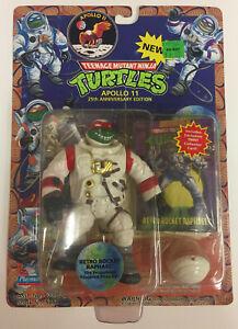 1994 TMNT Teenage Mutant Ninja Turtles Apollo 11 Retro Rocket Raphael 🔥 📈 RARE