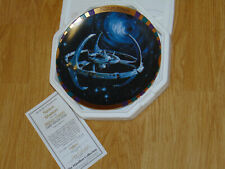 "HAMILTON STAR TREK - DEEP SPACE NINE - COLLECTORS PLATE ""SPACE STATION"""