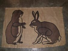 Rabbit Prairie Dog Allen Archery target cover 40 x 27 in face burlap bow hunting