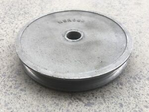 "MOROSO 64800 ALUMINUM ALTERNATOR PULLEY 5""DIA SINGLE GM & FORD GASSER HOT ROD"