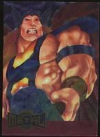 1995 Marvel Metal Blaster Trading Card #15 Thor