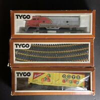Vintage Tyco Trains And Tracks Lot With Rare Boxes