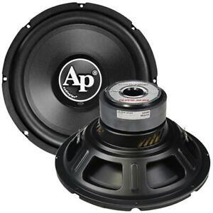 "Audiopipe TSPP212D4 12""  Woofer 1000W Max 4 Ohm DVC"