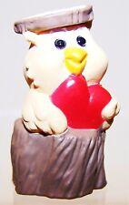 1994 New Hallmark Valentine Merry Miniature Owl On Stump Mint Never Used Qfm8243