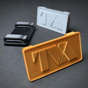 Loki TVA Belt Buckle (3D Printed) Golden Version