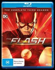 The Flash : Season 3 (Blu-ray, 4-Disc Set) NEW