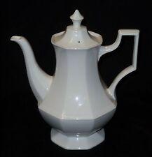"Coffee Pot - Johnson Brothers England - Heritage Bone White 10"""