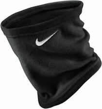 Official Nike Neck Warmer Mens Womens Black Thermal Fleece Snood Sports