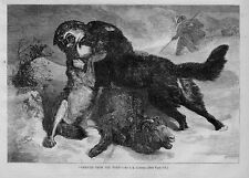 SHEEP RESCUED FROM THE WOLF BY SHEPHERD'S BEST FRIEND THE DOG SHEPHERD HISTORY