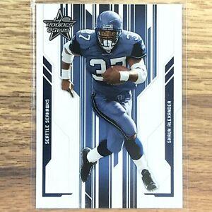Shaun Alexander Card 2005 Leaf Rookies & Stars NFL Seattle Seahawks 85 Donruss