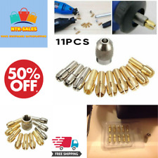 Collet Nut Kit Quick Change Part Power Dremel Rotary Tool Accessories 10pcs New.
