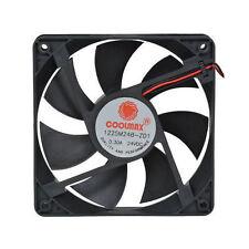 Coolmax 1225M24B-ZD1 120mm x 120m x 25mm 24V Brushless Tubeaxial Fan, 2Pin