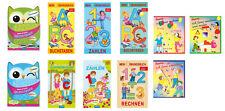 Übungsbuch Buchstaben Zahlen rechnen schreiben Einschulung Lernen Übungsheft ABC