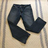 CALVIN KLEIN Men's STRAIGHT CUT Denim Blue Jeans Size 36