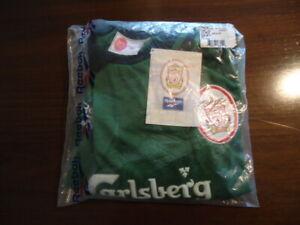 LIVERPOOL Original 1997 Reebok Green GOALKEEPER Shirt Youths MINT BAG TAGS Rare