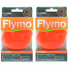 2 FLYMO Power Trim 500 XT 600HD 500 700 Strimmer Trimmer Head Cap FLY060 Genuine