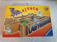 Kinder Labyrinth - 3D-Brettspiel , Spiel wie Neu , Karton gut
