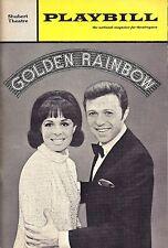 "Steve Lawrence ""GOLDEN RAINBOW"" Eydie Gorme 1968 Premiere Performance Playbill"