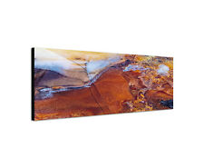 120x40cm Moosachat Makro Kasachstan Keilrahmen Leinwand Sinus Art