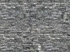 Vollmer 47367 ESCALA N, Placa de pared haustein 25x12, 5cm 1qm =