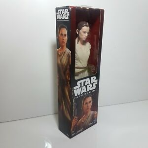 "Disney/Hasbro Star Wars Rey Jakku 12"" The Force Awakens Episode ray Figure Doll"