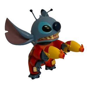 "Disney Stitch Action Figure With Laser Guns 8"""