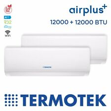TERMOTEK AIRPLUS C12+12 - CLIMATIZZATORE DUAL-SPLIT 12000+12000 BTU INVERTER A++