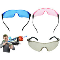 EYE PROTECTION SAFETY GLASSES GOGGLES KIDS OUTDOOR SHOOTING GAMES PROTECTOR ORNA