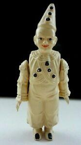 Vintage Rare German 1930's Celluloid Clown /Pierrot Schutz Marke & Turtle Symbol