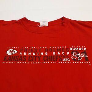 Kansas City Chiefs Priest Holmes T Shirt red Size XXL