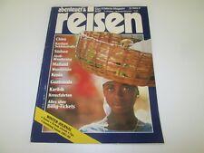 Abenteuer & Reisen - Juni 06 / 1987 - China, Südsee, Mailand, Kenia, Karibik