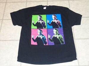 2010 NWA TNA Impact XXL Jeff Hardy Boyz multi color Wrestling T Shirt WWF WWE
